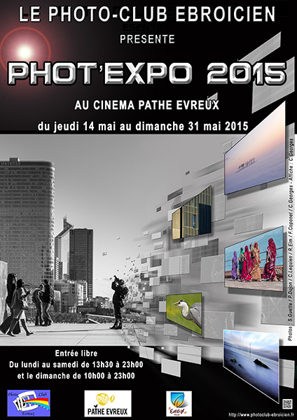 Affiche Phot'Expo 2015